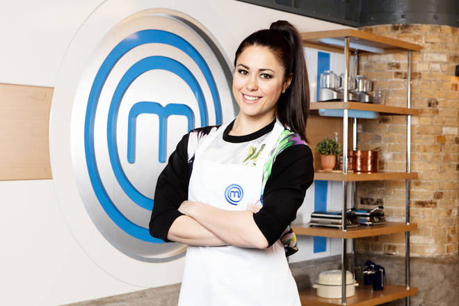 Sam Quek on Celebrity Masterchef