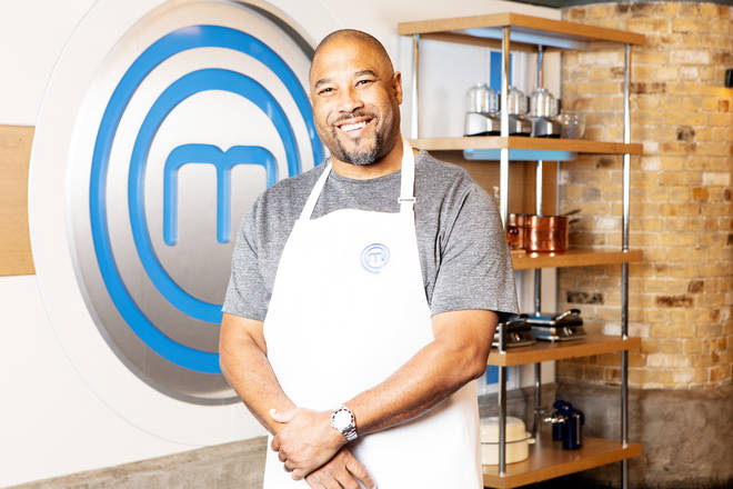 John Barnes on Celebrity Masterchef