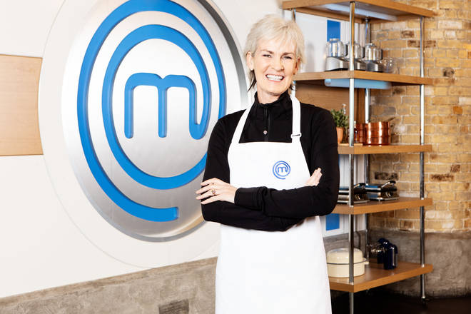 Judy Murray on Celebrity Masterchef