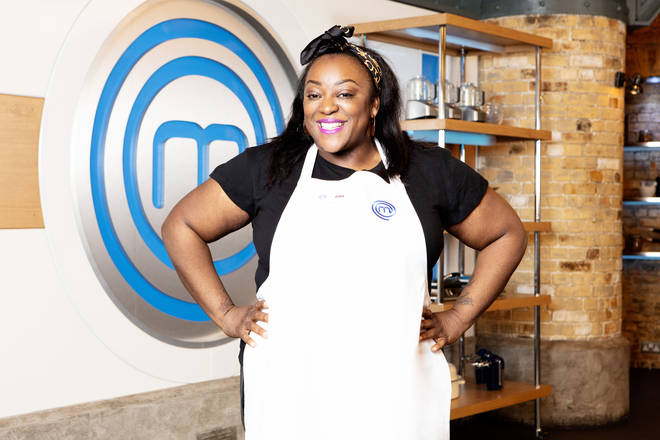 Judi Love on Celebrity Masterchef