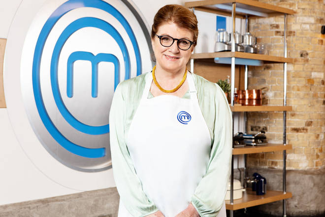 Felicity Montagu on Celebrity Masterchef