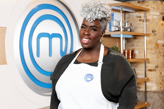Karen Gibson on Celebrity Masterchef