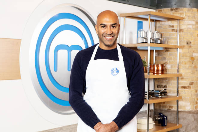 Amar Latif on Celebrity Masterchef