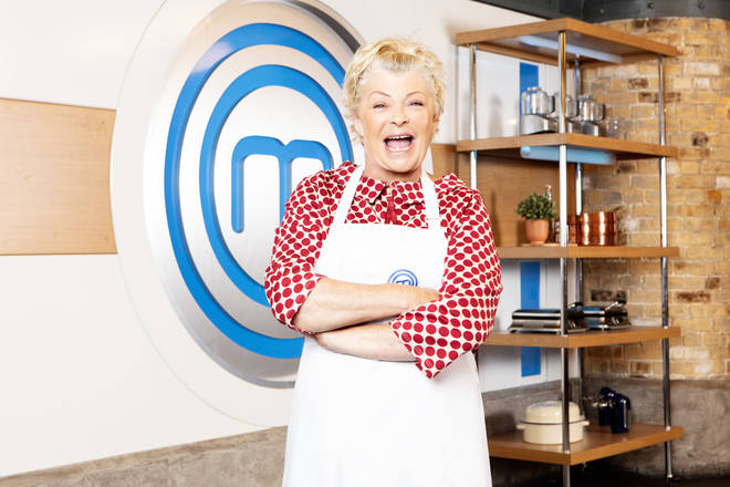 Crissy Rock on Celebrity Masterchef
