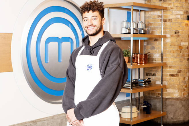 Myles Stephenson on Celebrity Masterchef