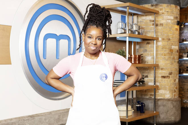 Shyko Amos on Celebrity Masterchef