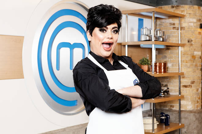 Baga Chipz on Celebrity Masterchef