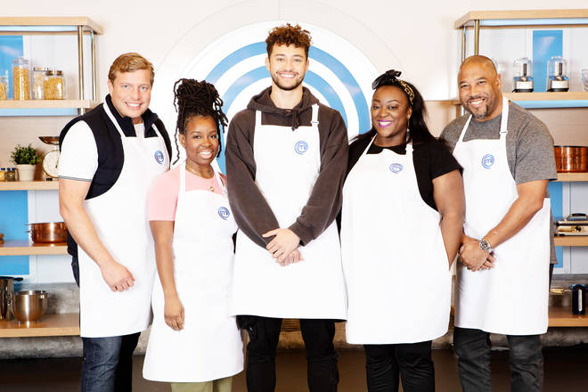 The Celebrity Masterchef contestants