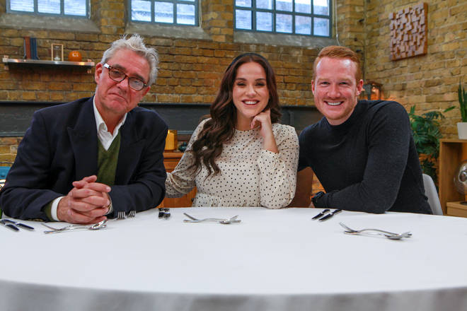 Dom Parker is appearing on Celebrity Masterchef as a judge