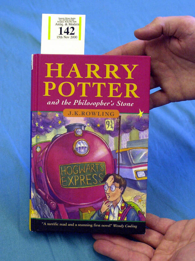 This Harry Potter book sold for thousands at auction