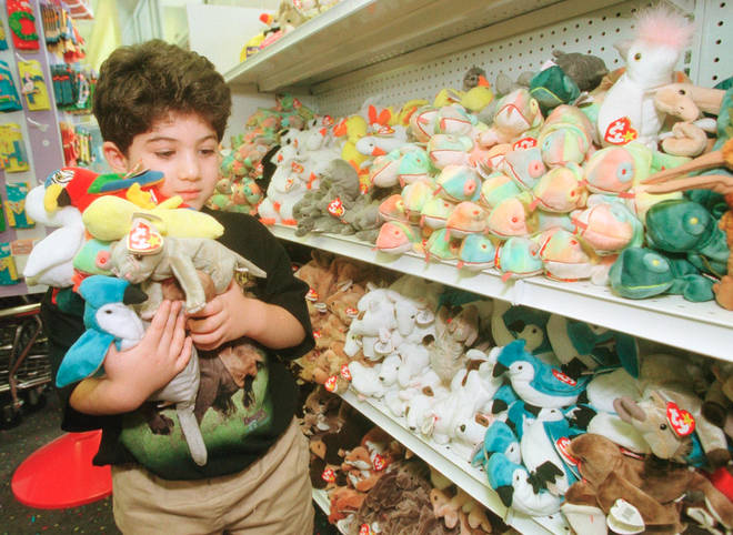 Specific Beanie Babies are also very valuable