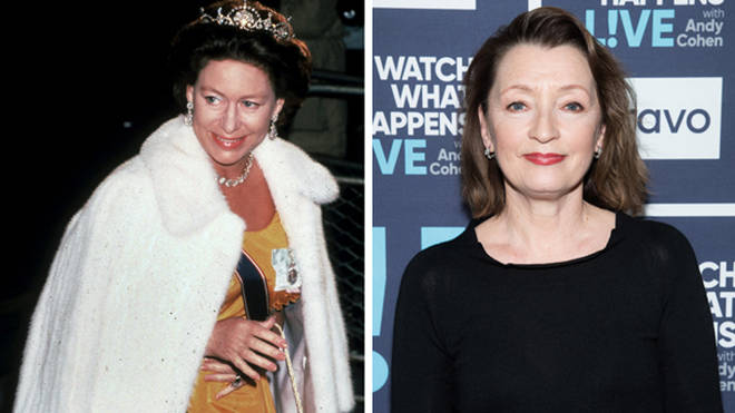 Lesley Manville will be taking on the role of Princess Margaret