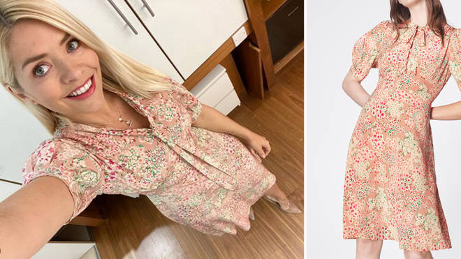Holly Willoughby's dress is from LK Bennett