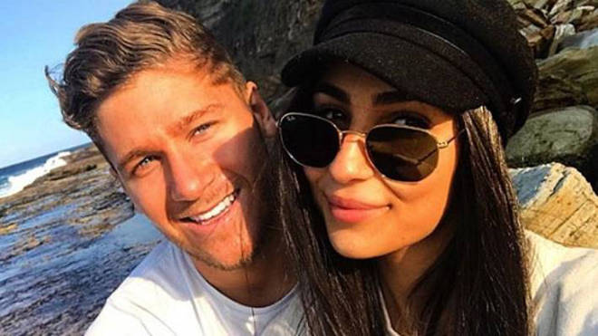 Tayla Damir and Dom Thomas were together for less than a year