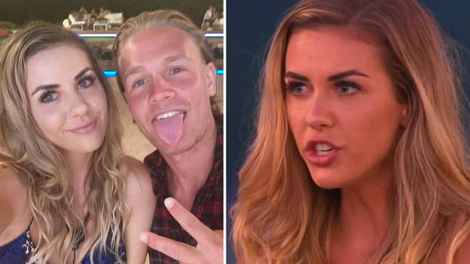 Shelby Bilby and Jaxon Human coupled up on Love Island Australia