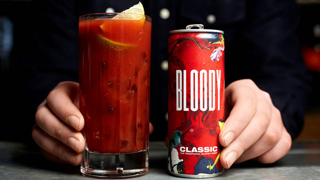 This canned Bloody Mary will hit the spot