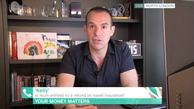 Martin Lewis offered advice to This Morning viewers