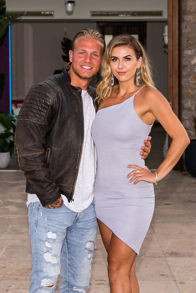 Shelby and Jaxon hit it off on Love Island Australia