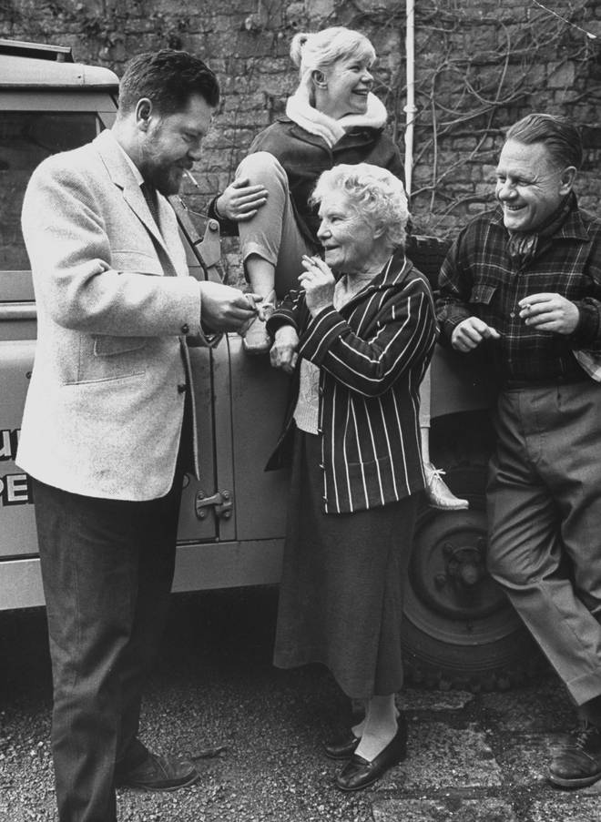 Gerald Durrell, his mother Louisa Durrell and brother Lawrence Durrell,