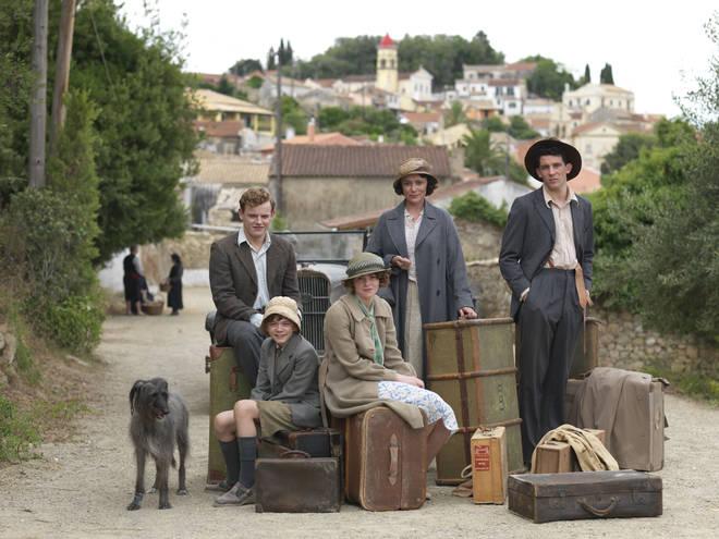 The Durrells arrived in Corfu in 1935