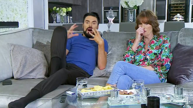Rylan's mum joined him on his sofa for Celebrity Gogglebox