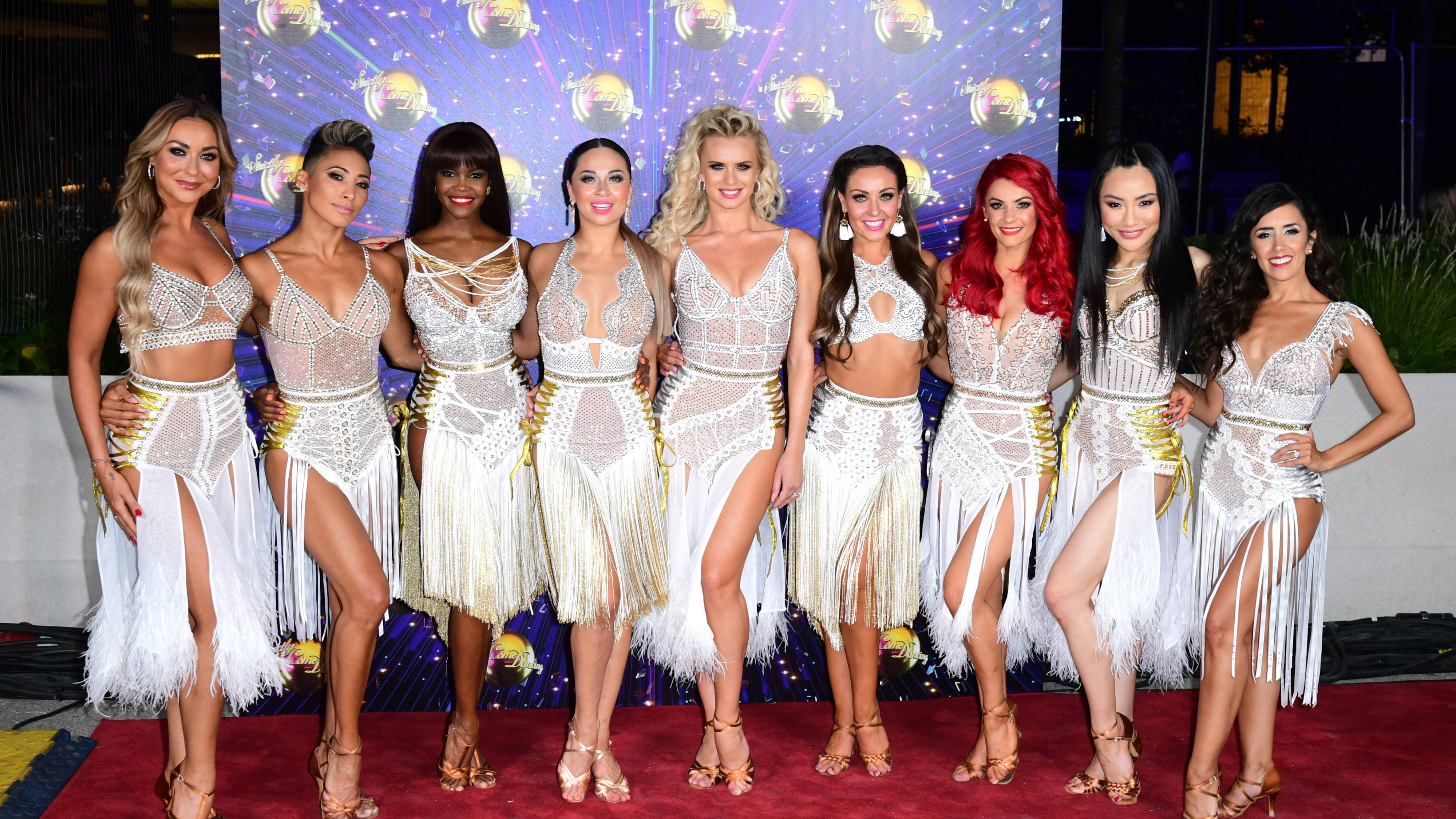 Strictly Come Dancing 2020 Full Professional Dancers Lineup Heart