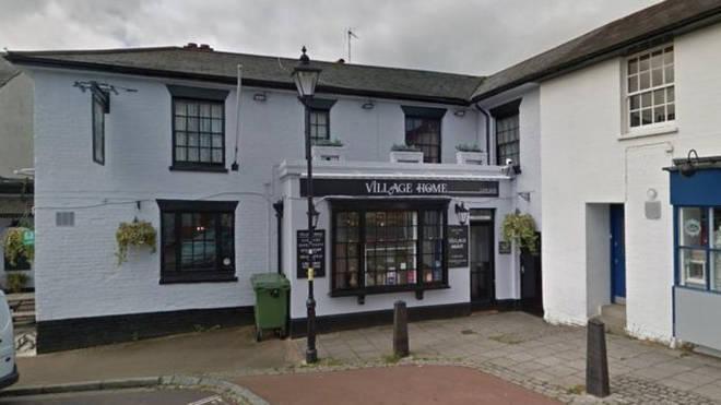 The village pub in Averstock