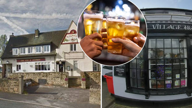 Pubs in England have already been forced to close