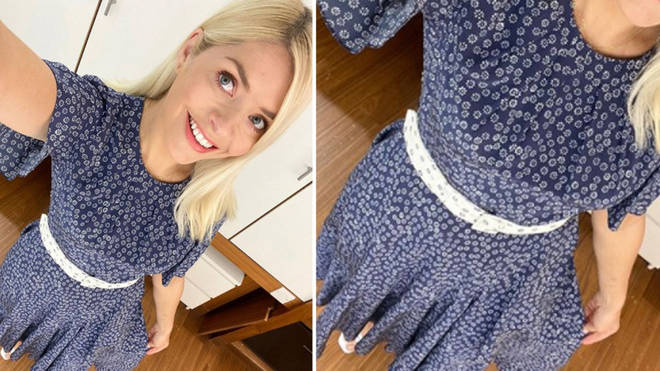 Holly Willoughby's dress is from a London boutique