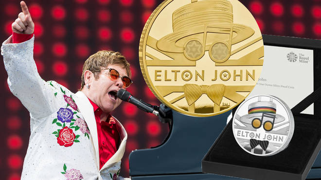Royal Mint have revealed a new coin in honour of Elton John