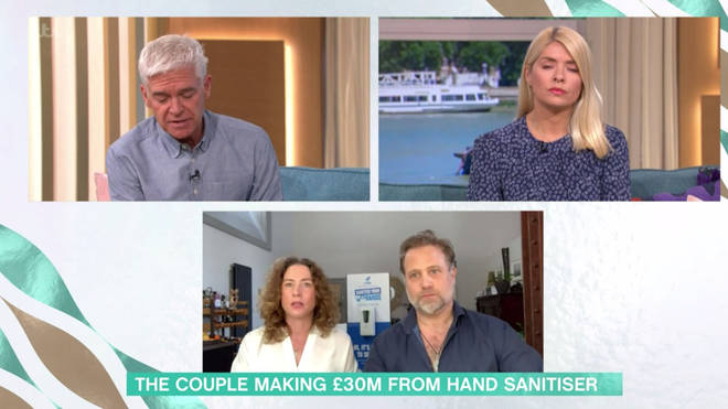 Andrew and Rachel appeared on This Morning