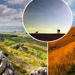 The most popular 'staycation' destinations have been revealed (stock images)