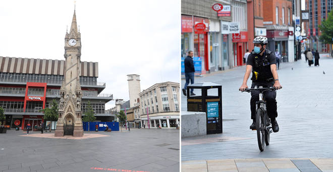 Leicester became the first UK city to be put under local lockdown