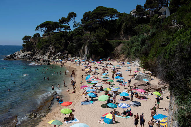 Brits can travel to Spain without having to quarantine on their return (stock image)