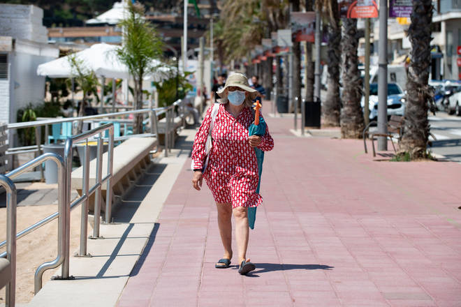 Many Brits have been planning a holiday to Spain this summer (stock image)