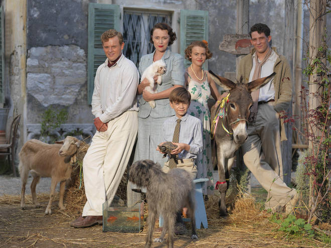 The Durrells were in Corfu for four years