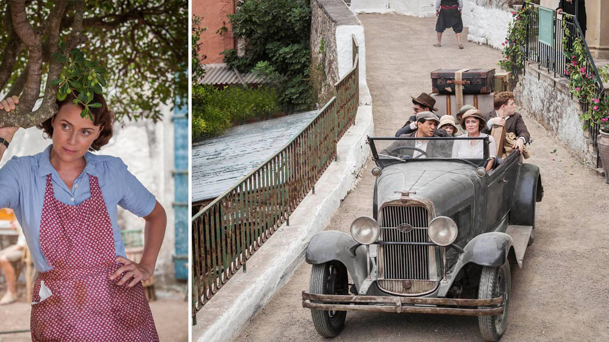 What year did The Durrells move to Corfu?