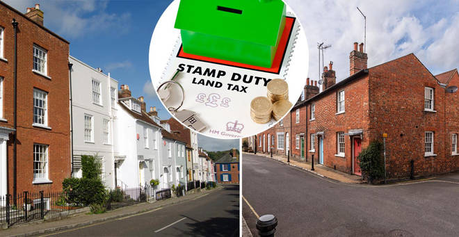 The towns where homebuyers would benefit the most from a stamp duty cut have been revealed