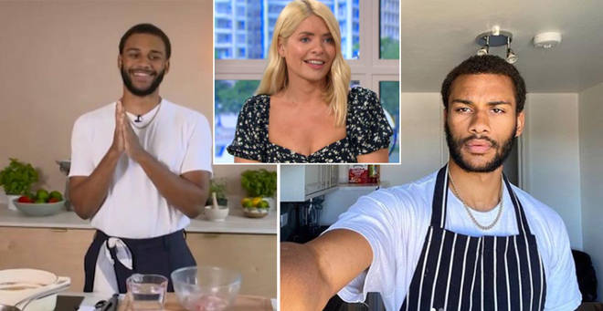 Chef Joseph has a special connection to This Morning's Holly Willoughby