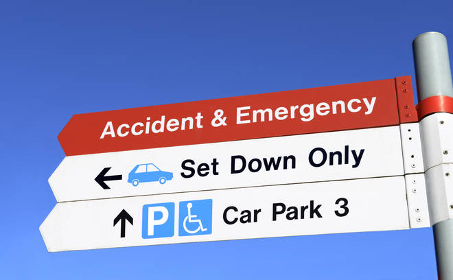 NHS workers were provided with free hospital parking at the start of the pandemic (stock image)