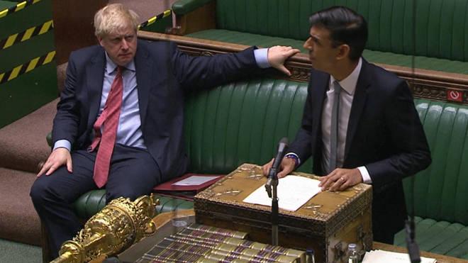 Rishi Sunak addressed the House of Commons on Wednesday
