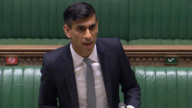 Rishi Sunak made a speech in the House of Commons today