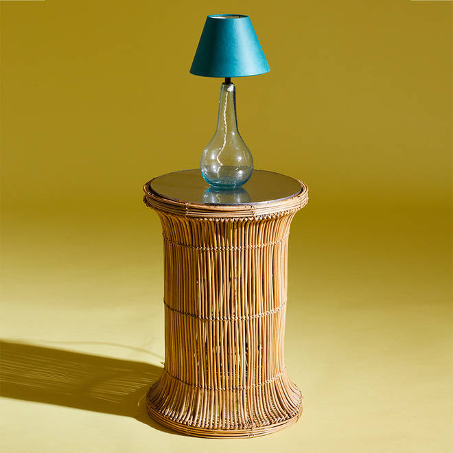 Maha Cane side table