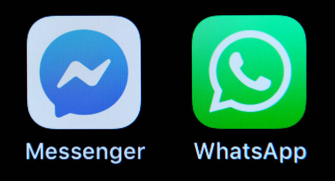 Both the social networking apps are use for messaging