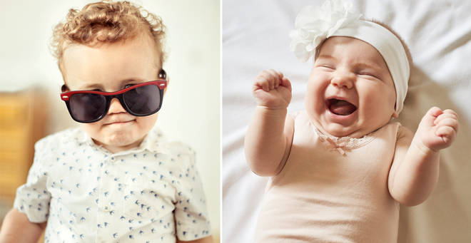 The most popular fashion and beauty-inspired baby names have been revealed (stock images)
