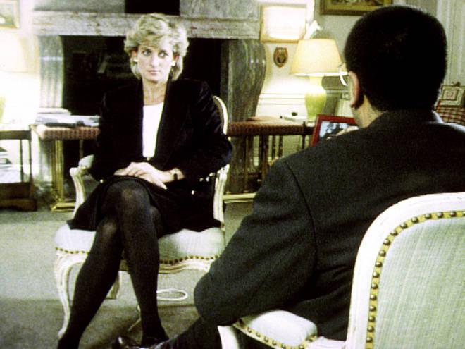 Diana was interviewed by Martin Bashir