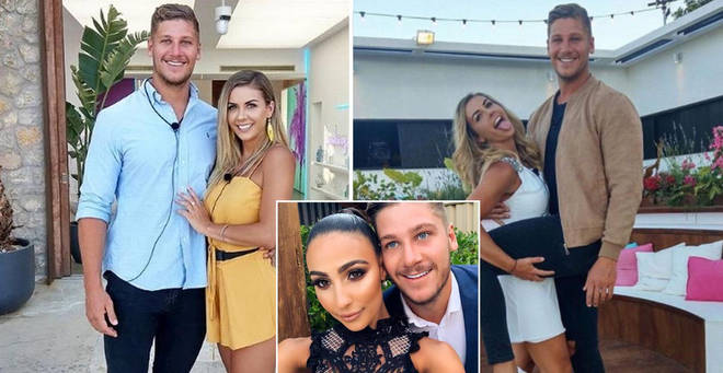 Dom and Shelby from Love Island Australia