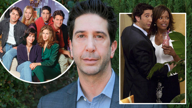 David Schwimmer said he thought his character, Ross, should date women of all races