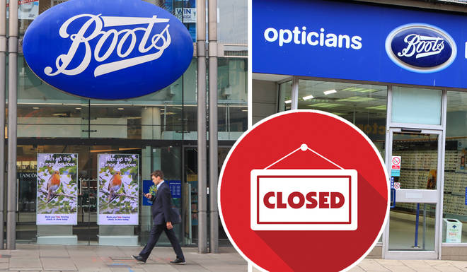 Boots will be closing a number of stores across the UK