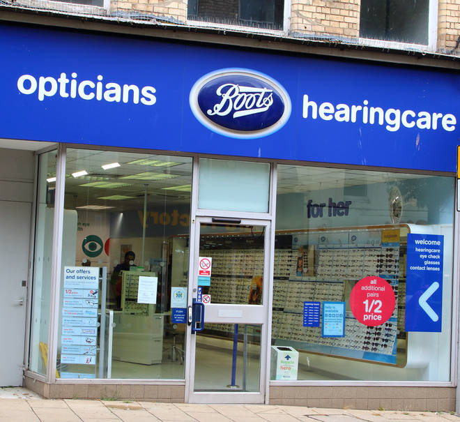 48 Boots Opticians stores will be closing across the UK